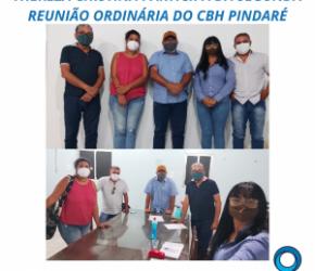 THEREZA CHISTINA PARTICIPA DA SEGUNDA REUNIÃO ORDINÁRIA DO CBH PINDARÉ