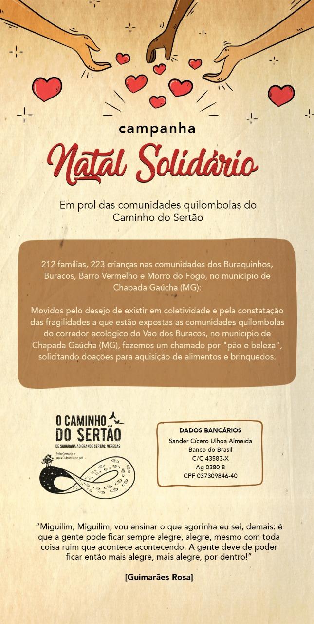 O FONASC APOIA AS COMUNIDADES QUILOMBOLAS DO CAMINHO DO SERTÃO NA BACIA DO RIO URUCUIA  MG