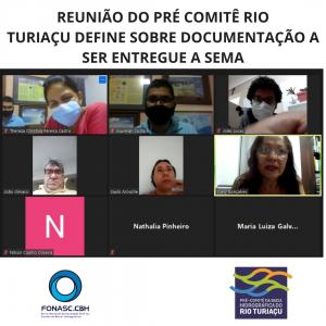 REUNIÃO DO PRÉ COMITÊ RIO TURIAÇU DEFINE SOBRE DOCUMENTAÇÃO A SER ENTREGUE A SEMA