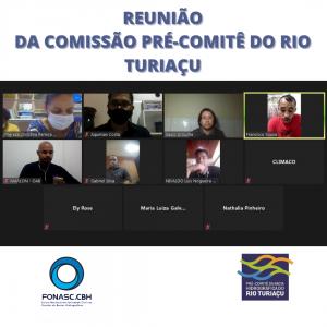 REUNIÃO DA COMISSÃO PRÉ-COMITÊ RIO TURIAÇU AVANÇA NA TOMADA DE DECISÕES