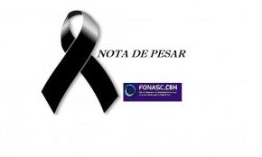 NOTA DE PESAR -CIDADANIA HÍDRICA DE  JOSÉ CHACON DE ASSIS