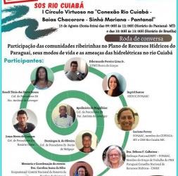 FONASC MT APOIOU E PARTICIPOU DE MAIS UMA ATIVIDADE DO 'SOS RIO CUIABA' l CIRCULO VICIOSO NA CONEXÃO RIO CUIABÁ COM AS COMUNIDADES RIBEIRINHAS